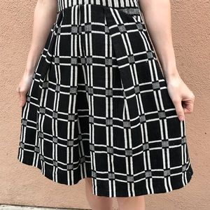 Anthropologie Dresses - Anthropologie Eva Franco Dress Black White Squares